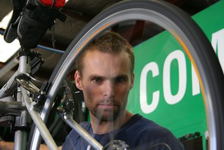 Cycling in Melbourne - Repairing wheel at Commuter Cycles | by John Englart (Takver)