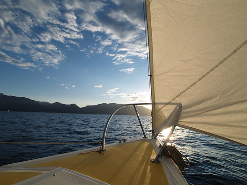 Sailing on Tahoe | by jfdervin