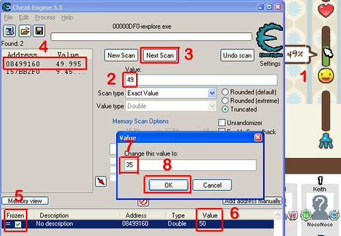 How to use cheat engine 5. 5 youtube.