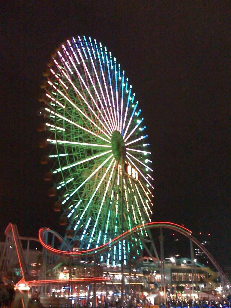 車 横浜 大 観覧 横浜には「観覧車」が2つあります!コスモワールドと~?【都筑はwebで】