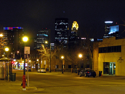Night at Nicollet and Franklin | by MSPdude
