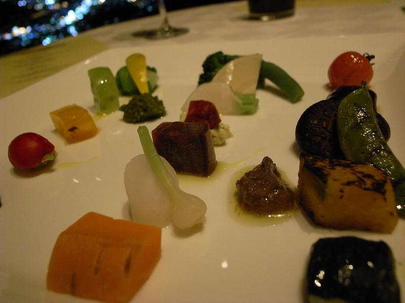 菜園 - 野菜のパレット仕立て