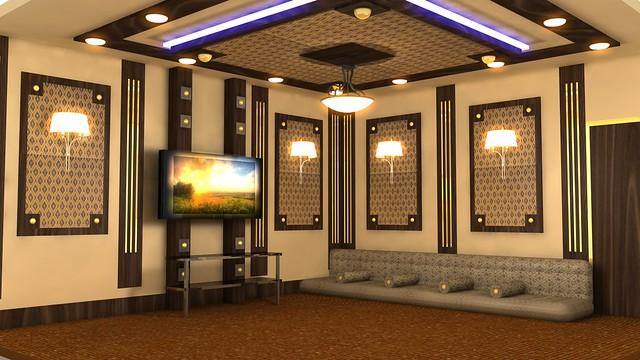 arabic living room designed by DAR design & decoration com