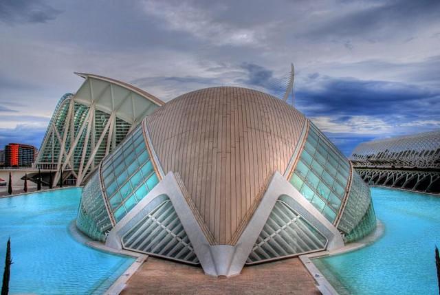 Ciudad de las Artes y las Ciencias - Valencia, Spain HDR