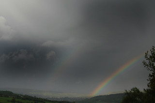 Rainbow and Stormy Skies over Rawtenstall | by Dave Haygarth