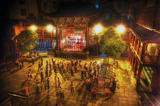 Chinese Night Opera.   by @yakobusan Jakob Montrasio