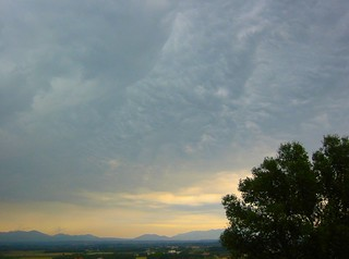 Storm over the Pyrenees seen from Figueres, Catalunya, Spain | by Paul Anthony Moore