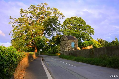 road trees ireland summer dublin wall barn canon back explore lane rugged leinster blanchardstown clonsilla porterstown 450d dublin15 luttrellstown