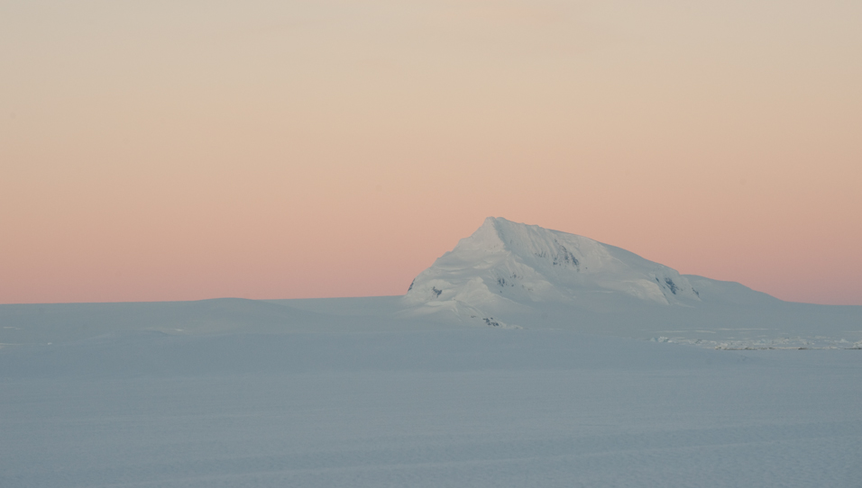 Night Calm in Antarctica