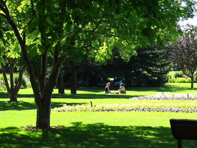 Riley Park in Calgary, Canada