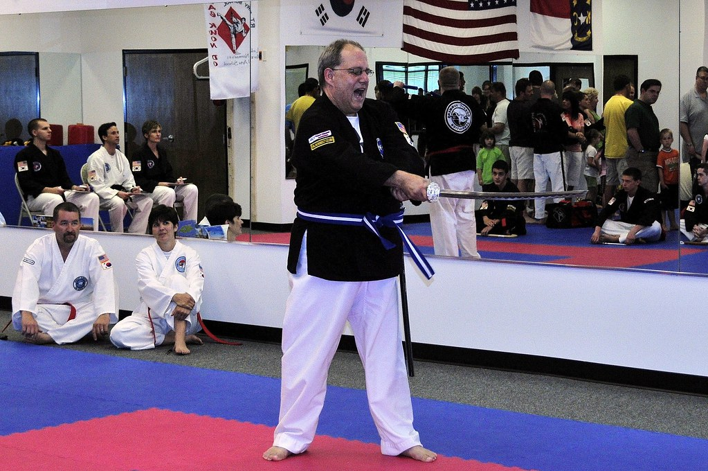 My sword form | Saturday May 9, 2009 RT Berry TKD Tourney Mo… | Flickr