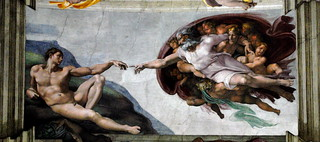 """The Creation of Adam"" 