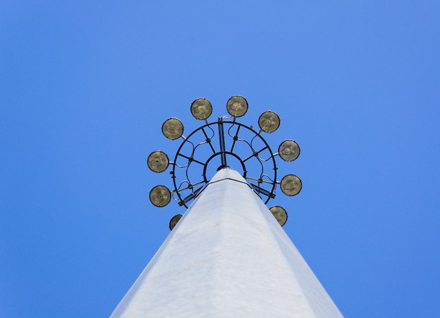 Streetlamps in the Sky - #1571
