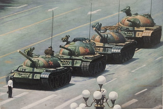 Tiananmen Square: Do you exclusively paint Thomas Kinkade paintings? | by mandiberg