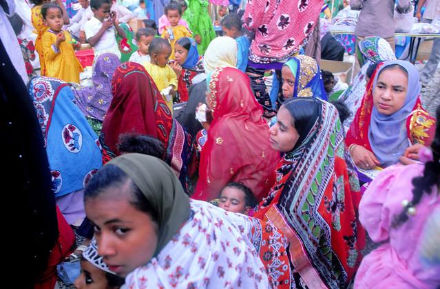 Eid morning Market - Sumail