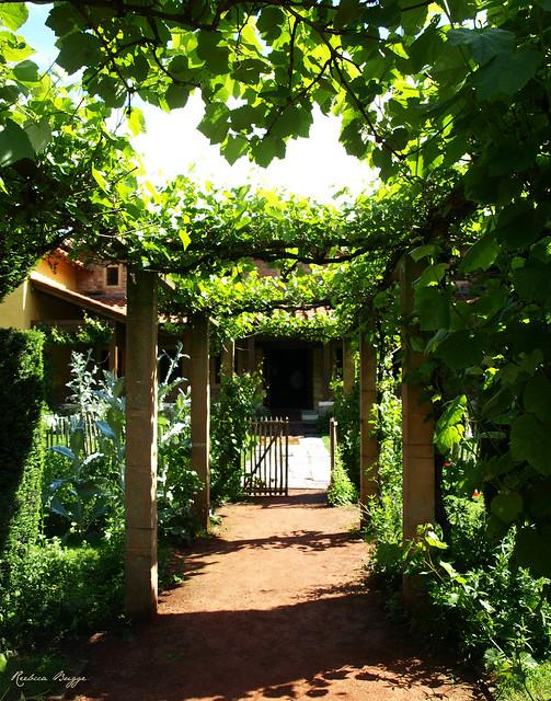The Roman garden gate