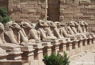 Temple de Karnak, Louxor, Egypte