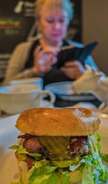 Mmmm ( Home made Burger) (Panasonic Lumix LX15 Compact)  (1 of 1)