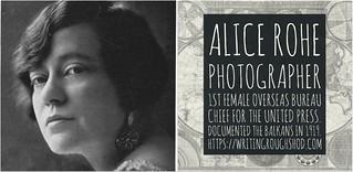ALICE ROHE #100travelHERS | by sandrakaybee