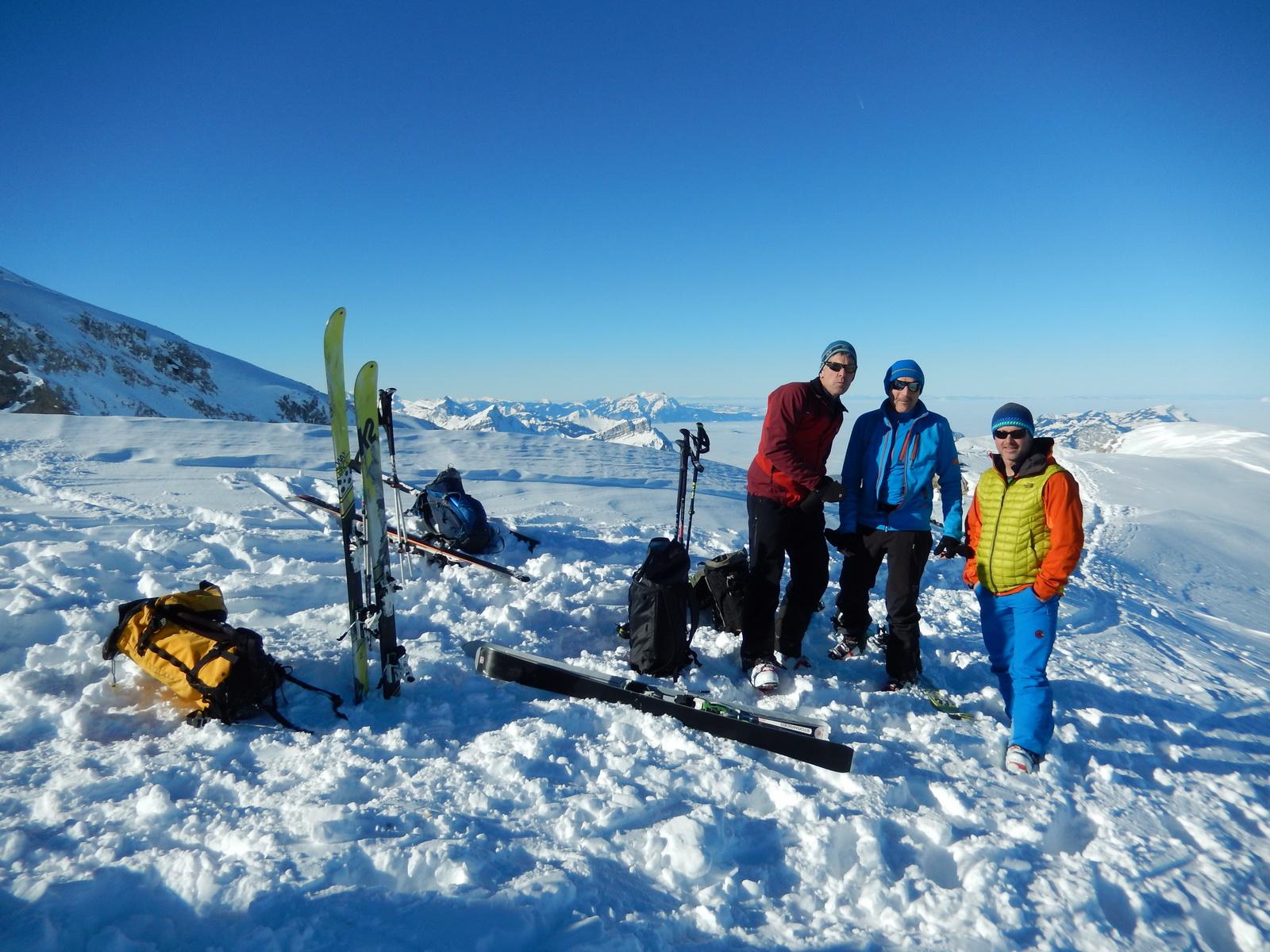 Skitour Blüemberg 21.01.2017