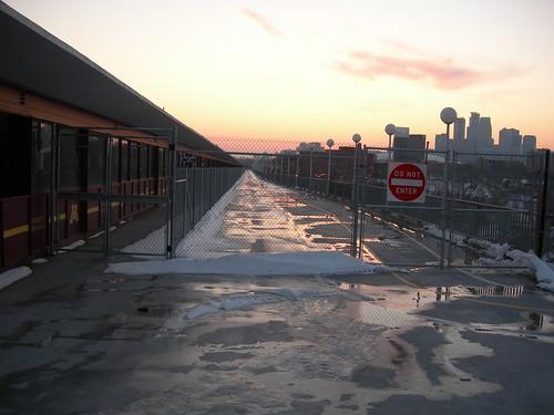 Pedestrian Deck of the Washington Avenue Bridge