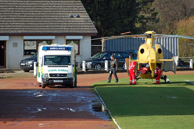 Helimed 5 + VW ambulance