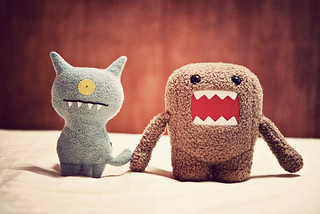 ugly + domo = kinda cute | by mosippy