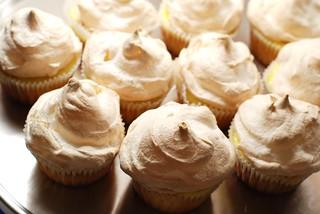 Lemon meringue cupcakes. | by a.meadowlark