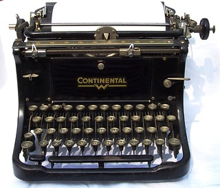 Antique German Continental Typewriter | by Valeriana Solaris