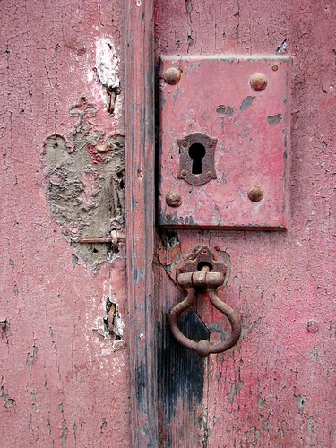 square old pink lock | by daniel virella
