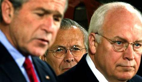 bush-rumsfeld-cheney | by k000t2002