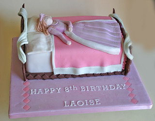 Tremendous Birthday Cake 183 Sleeping Beauty Paula Jane Bourke Flickr Personalised Birthday Cards Paralily Jamesorg