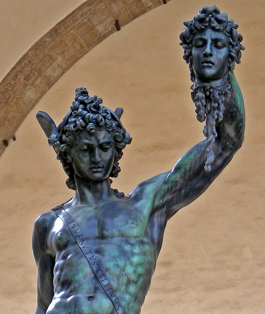 Perseus With The Head Of Medusa By Cellini 01 Underneath
