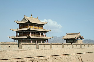 China - Jiayuguan Fort (嘉峪关)   by eviltomthai