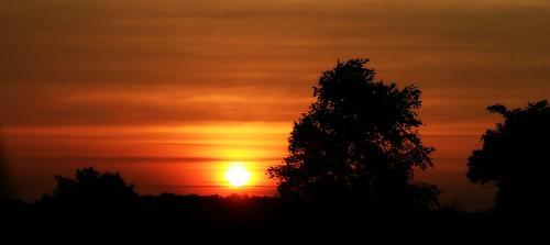 sunset red summer sky orange black yellow clouds geotagged sundown indiana cloudysky lateafternoon earlyevening summersunset thesettingsun corydonindiana southcenralindiana geo:lat=38252673 geo:lon=86058183