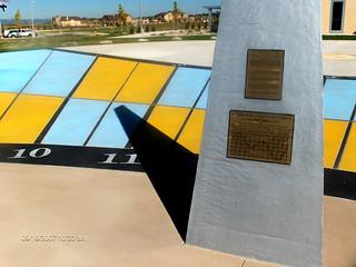 Chinook Trail Monumental Sundial By Carmichael