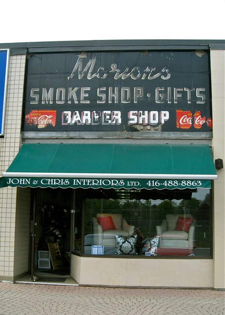 Morions Smoke and Gift Shop: Barber Shop, Toronto, ON