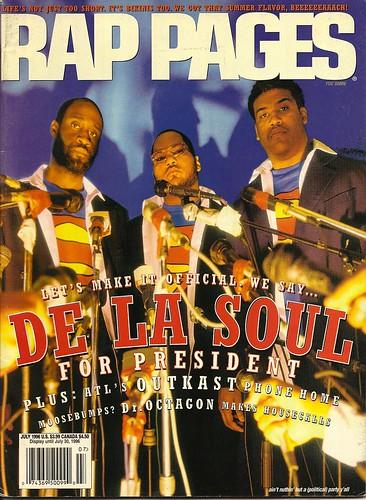 De La Soul Rappages Cover | by lionelane