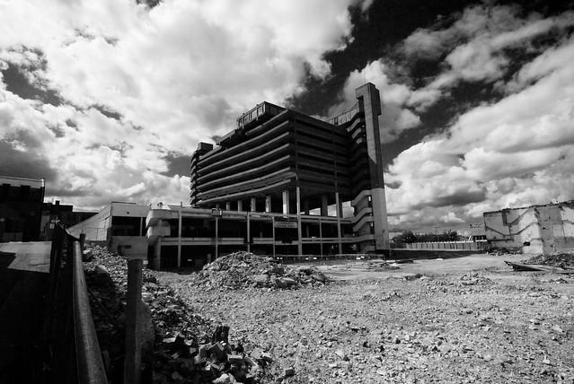 Carpark, Gateshead. Gateshead Multi Storey Car Park / Trinity Centre Indoor market
