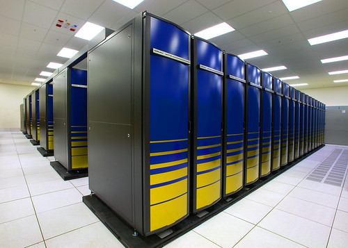 NERSC Franklin Cray XT4s - supercomputer cluster | by Berkeley Lab