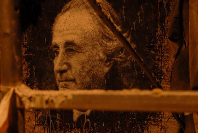 Bernard Madoff, painted portrait _DDC5183
