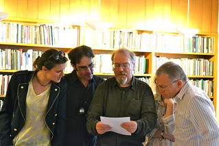 An Experimental Poetry Quartet featuring Jean-Pierre Bobillot | by Christina Davis