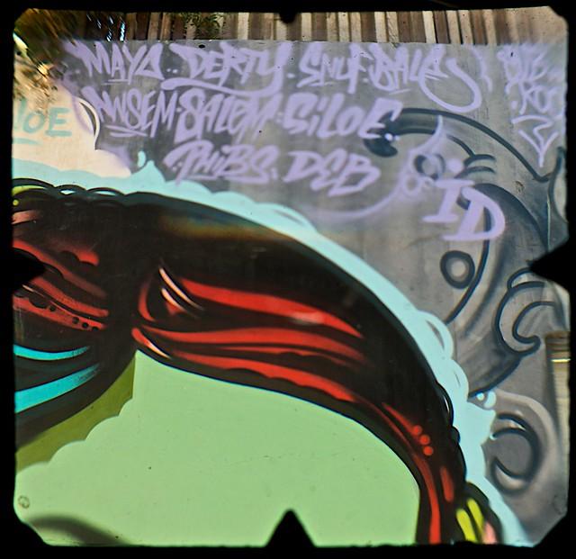 Street Art, Young Street, Fitzroy, Melbourne  (TTV-090319-2155-H)