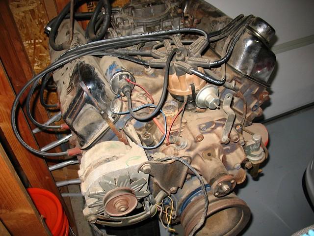 1972 Ford Gran Torino 351 Cleveland Cobra Jet Engine (4) | Flickr
