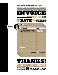 Invoice For (design) Work | by holdsnowater