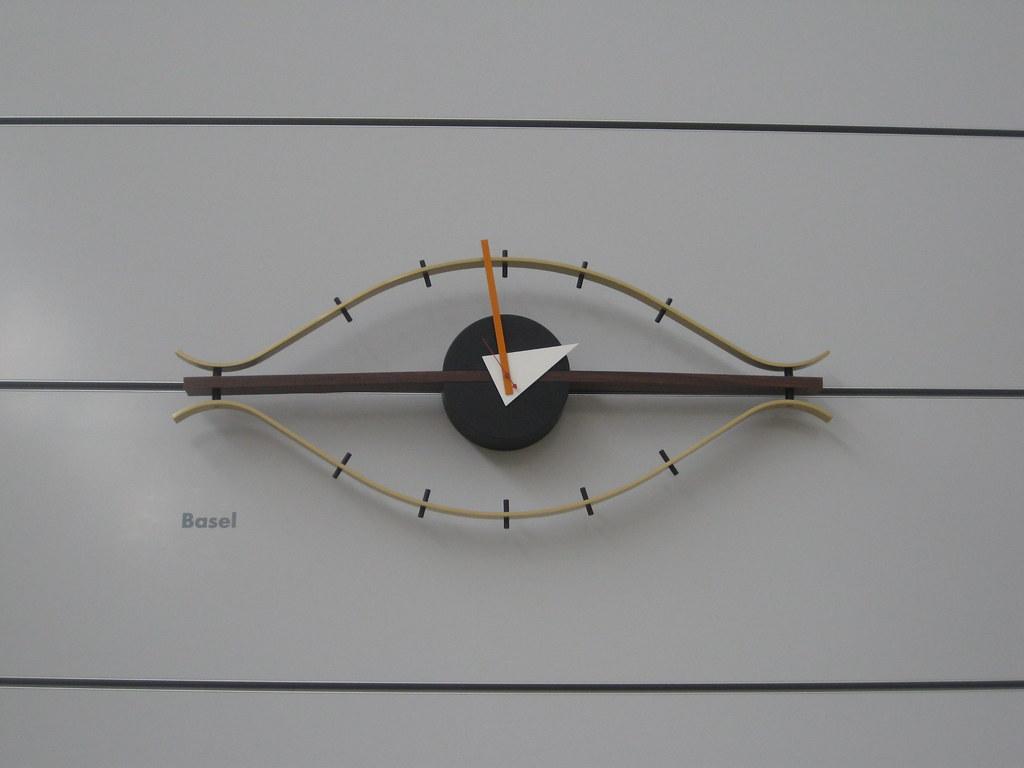 George Nelson Eye Clock Vitra HQ Basel