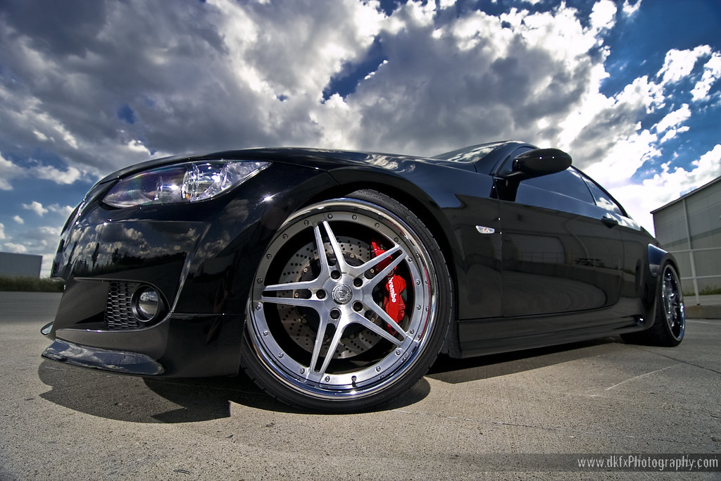 bmw 335i wide with brembo bbk and DPE's