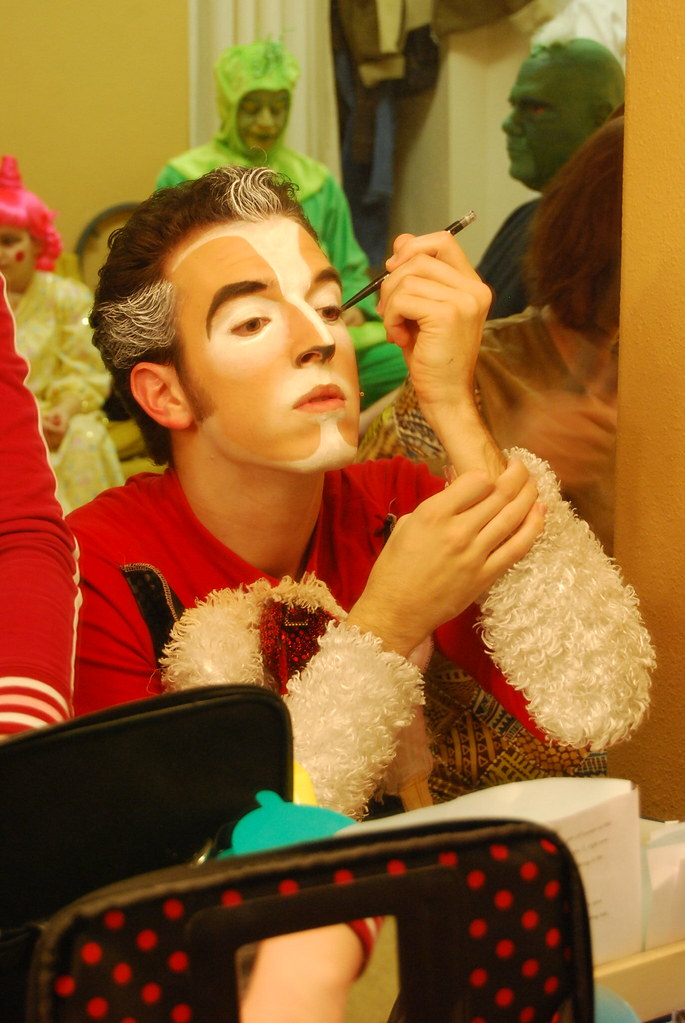 ... The Cat in the Hat Makeup 11   by Pentacle Theatre