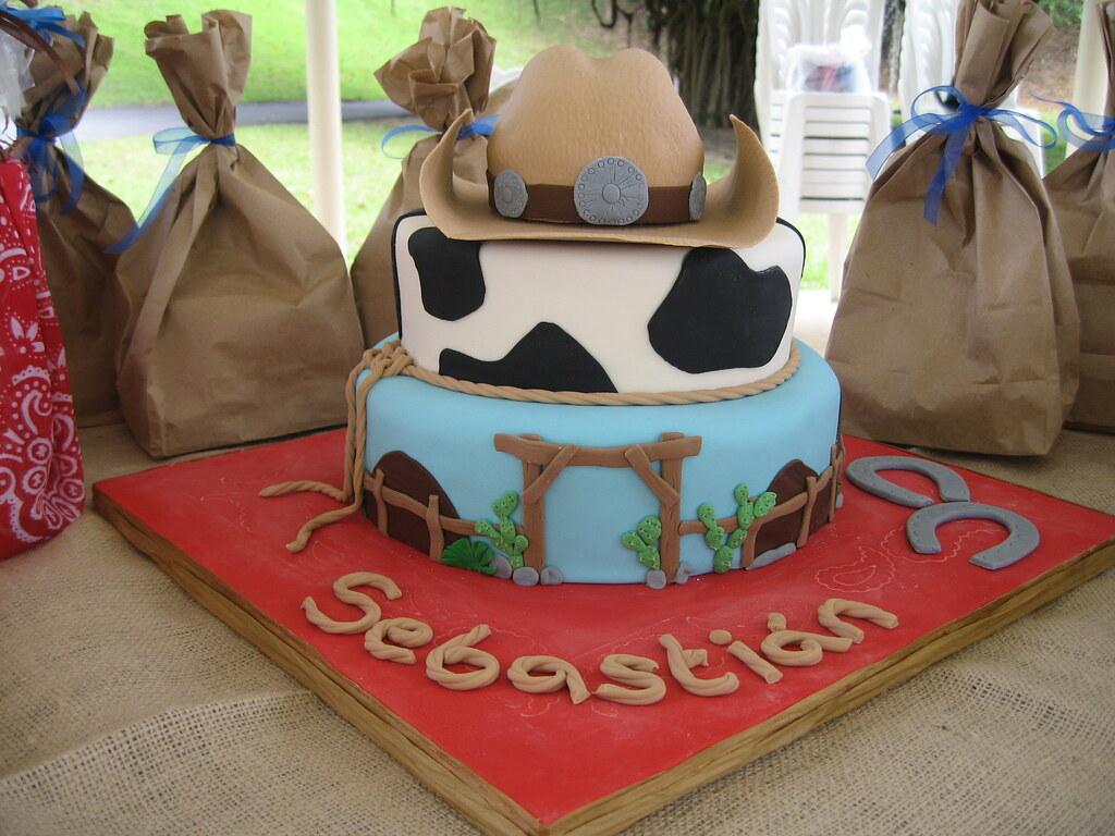 Sensational Cowboy Birthday Cake This Was My Sons 5Th Birthday Cake Sugar Funny Birthday Cards Online Necthendildamsfinfo
