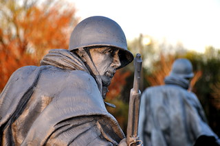 Korean War Memorial 2   by Kevin Burkett